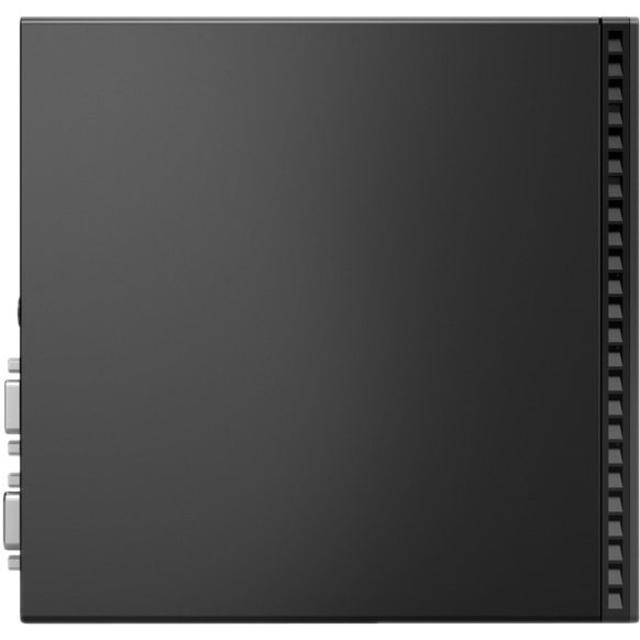Lenovo ThinkCentre M70q 11DT002CUS Desktop Computer - Intel Core i5 10th Gen i5-10400T Hexa-core (6 Core) 2 GHz - 8 GB RAM DDR4 SDRAM - 128 GB SSD - Tiny - Raven Black