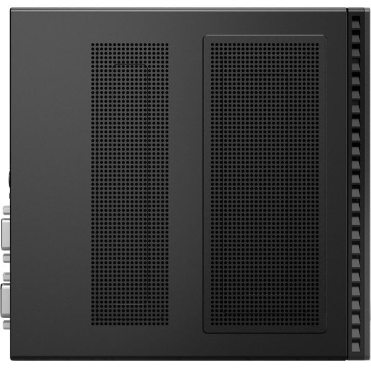 Lenovo ThinkCentre M90q 11CR001XUS Desktop Computer - Intel Core i5 10th Gen i5-10500 Hexa-core (6 Core) 3.10 GHz - 8 GB RAM DDR4 SDRAM - 256 GB SSD - Tiny - Black