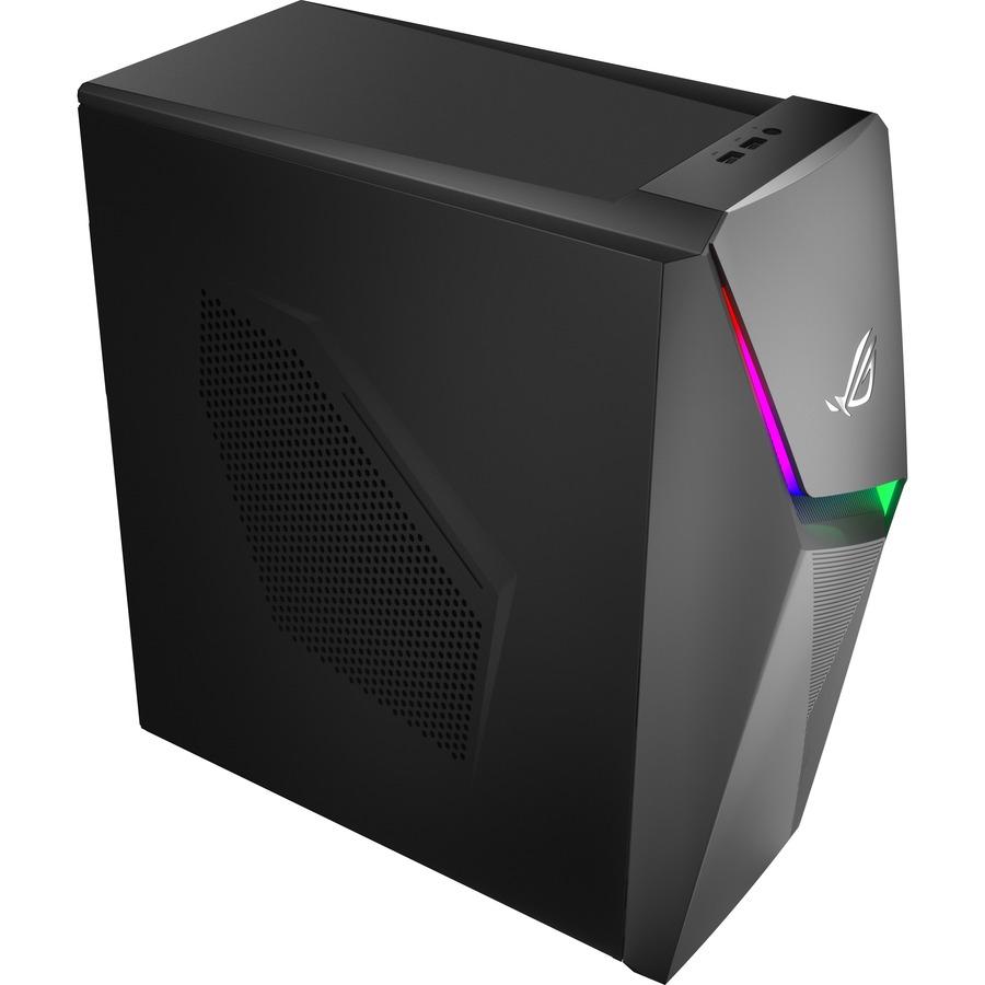 Asus ROG Strix GL10DH-DBR560 Gaming Desktop Computer - AMD Ryzen 5 3400G 3.70 GHz - 8 GB RAM DDR4 SDRAM - 512 GB M.2 PCI Express SSD - Iron Gray