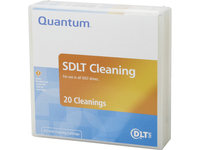 Quantum cleaning cartridge, SDLT/DLT-S4 Cleaning Tape. Must order in multiples of 20