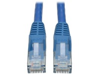 Tripp Lite 10ft Cat6 Gigabit Snagless Molded Patch Cable RJ45 M/M Blue 10'
