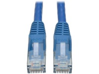 Tripp Lite 3ft Cat6 Gigabit Snagless Molded Patch Cable RJ45 M/M Blue 3'