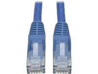 Tripp Lite 7ft Cat6 Gigabit Snagless Molded Patch Cable RJ45 M/M Blue 7'
