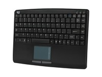 Adesso AKB-410UB Slim Touch Mini Keyboard with Built in Touchpad