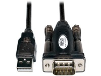 Tripp Lite 5ft USB to Serial Adapter Cable USB-A to DB9 RS-232 M/M