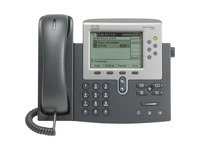 Cisco Unified 7962G IP Phone - Refurbished - Wall Mountable, Desktop - Dark Gray, Silver