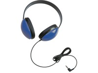 Califone Childrens Stereo Blue Headphone Lightweight