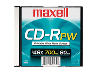Maxell 48x CD-R Media
