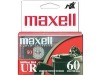 Maxell UR60 Cassette Tape (2 Pack)