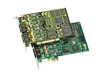 Dialogic D4PCIU4SEQ Voice Board - PCI Express - 4 x Phone Line (RJ-11) - Plug-in Card