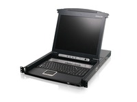 "8-Port 17"" LCD Combo KVM Switch (TAA Compliant)"