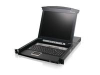 "8-Port 17"" LCD Combo KVM Switch (TAA Compliant)"