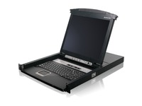 "16-Port 17"" LCD Combo KVM Switch (TAA Compliant)"