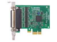 Brainboxes 4 Port RS232 Low Profile PCI Express Serial Card