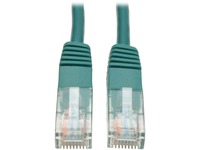 Tripp Lite 1ft Cat5e / Cat5 350MHz Molded Patch Cable RJ45 M/M Green 1'