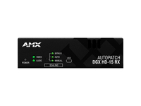 AMX AVB-RX-DGX-SC FIBER-HD15 Video Console