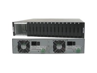 Perle MCR1900-DAC - 19 Slot Chassis for Media Converter and Ethernet Extender Modules