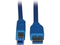Tripp Lite 10ft USB 3.0 SuperSpeed Device Cable 5 Gbps A Male to B Male