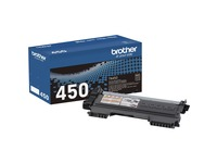 Brother Genuine TN450 Mono Laser High Yield Black Toner Cartridge