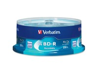 BD-R 25GB 16X with Branded Surface - 25pk Spindle