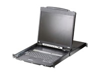 ATEN CL5808N Dual Rail Rackmount LCD-TAA Compliant