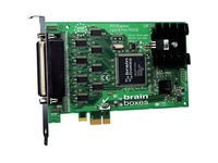 Brainboxes 8 Port RS232 PCI Express Serial Card 9 Pin Connectors