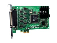Brainboxes 8 Port RS232 PCI Express Serial Card 25 Pin Connectors