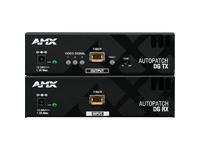 AMX AVB-RX-FIBER-DVI Video Console