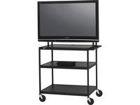 Bretford Basics FP60UL-E5BK Flat Panel Cart