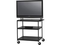 Bretford Basics FP60UL-P5BK Flat Panel Cart