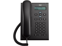 Cisco 3905 IP Phone - Corded - Wall Mountable, Desktop - Charcoal