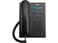 Cisco 3905 IP Phone - Corded - Wall Mountable, Desktop - Charcoal