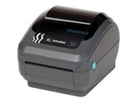 Zebra GX420d Desktop Direct Thermal Printer - Monochrome - Label Print - Ethernet - USB - Serial - US