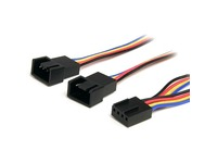 StarTech.com 12in 4 Pin PWM Fan Extension Power Y Cable - F/M