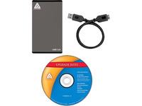 Apricorn EZ Upgrade EZ-UP3 Drive Enclosure - USB 3.0 Host Interface External - Black