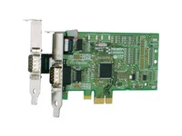 Brainboxes 2 Port RS232 Low Profile PCI Express Serial Card