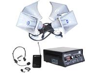 AmpliVox SW314 - Wireless Quad Sound Cruiser