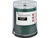 DataLocker EncryptDisc CD-R 100 Pack Self-Encrypting Optical Media