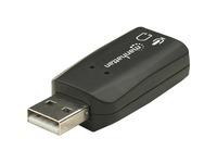 Manhattan Hi-Speed USB 2.0 3-D Sound Adapter