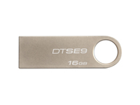 Kingston 16GB DataTraveler SE9 USB 2.0 Flash Drive - Champagne