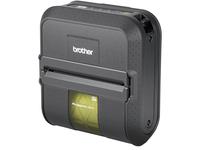 Brother RuggedJet RJ4030 Direct Thermal Printer - Monochrome - Portable - Label Print - USB - Serial