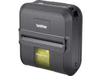 Brother RuggedJet RJ4040 Direct Thermal Printer - Monochrome - Portable - Label Print - USB - Serial