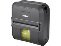 Brother RuggedJet RJ4040 Direct Thermal Printer - Monochrome - Portable - Label Print - USB - Serial