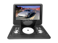 "PyleHome PDH14 Portable DVD Player - 14"" Display - 1366 x 768 - Black"