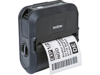 Brother RuggedJet RJ4030 Direct Thermal Printer - Monochrome - Portable - Label Print