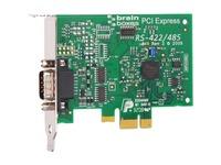 Brainboxes 1 Port RS422/485 Low Profile PCI Express Port Card