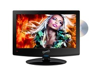 "Supersonic SC-1512 15"" TV/DVD Combo - HDTV - 16:9 - 1440 x 900 - 720p"