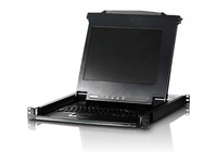 ATEN 17in. Single Rail TAA Compliant LCD Console