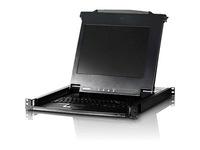 ATEN 17in. Single Rail TAA Compliant LCD Console
