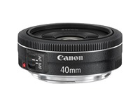 Canon - 40 mm - f/2.8 - Medium Telephoto Fixed Lens for Canon EF/EF-S
